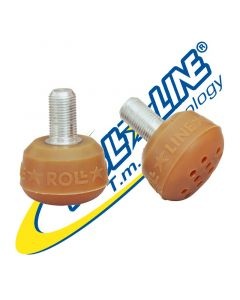 Roll-Line Super Professional Toe-Stops (a pair)
