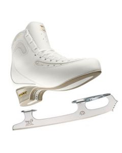 Edea Ice Fly + Eclipse Pinnacle Blades(Gold Seal Profile) Complete Figure Skates