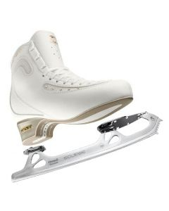 Edea Ice Fly + Eclipse Pinnacle Titanium Blades(Gold Seal Profile) Complete Figure Skates