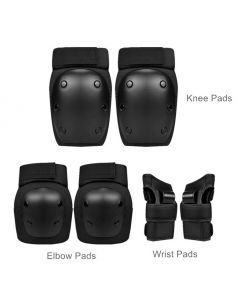 Outdoor skating protection kit (Wrist, elbow and knee)