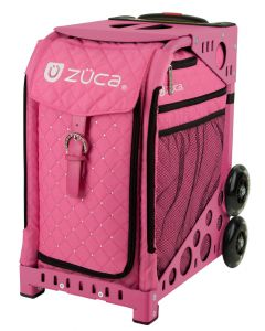 Zuca Sports Bag (Hot Pink w Rhinestones)