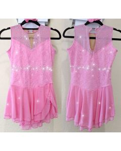 Pink Performance Dress (One piece only, 140cm - 155cm)