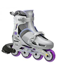 Roller Derby Cobra Size Adjustable Inline Skates Purple ( size 12 - 1 adjustable )