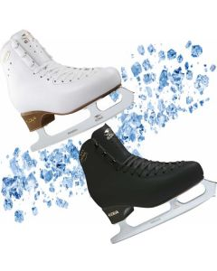 Edea Overture Boot and Charme Blade Set (Ivory/Black)