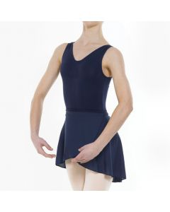 Lycra Basic Navy Leotard and Skirt